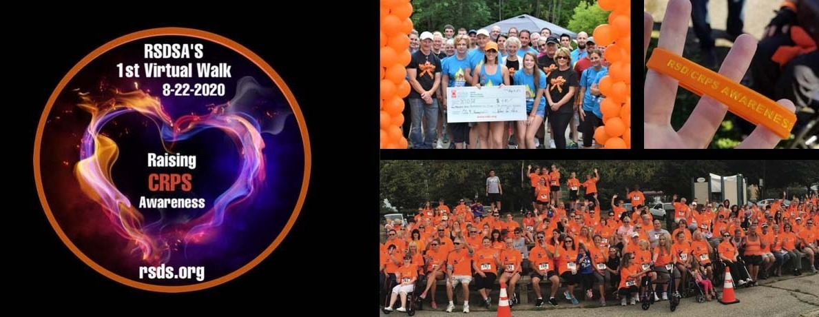 RSDSA's First Virtual CRPS Awareness Walk